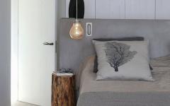 ameublement design sobre minimaliste chambre à coucher