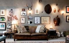 intérieur design éclectique et créatif