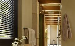 salle de bain rustique moderne villa de luxe
