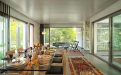 intérieur élégant résidence secondaire exotique