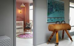 chambre de bébé maison décoration éclectique
