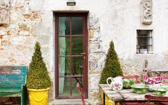 terrasse maison ancienne rénovée