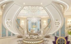 maison oriental de luxe design déco or cristal