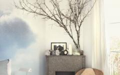 intérieur décoration aspiration artistique ciel nuage chambre à coucher