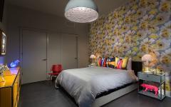chambre éclectique décoration personnelle design