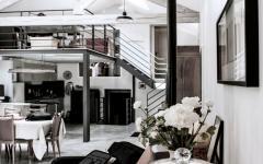 décoration intérieur loft industriel rustique