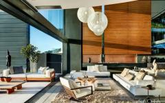 intérieur indoor moderne conteporain belle demeure