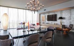 séjour appartement design moderne contemporain