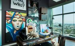 couleurs flashy design décoration appartement