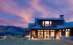 Villa de luxe vivons maison - Vacances a la montagne villa rustique aspen ...