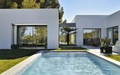 belle demeure à l'architecture contemporaine