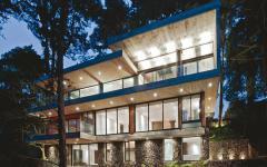 architecture résidentielle maison d'architecte contemporaine verte