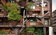 bâtiment centre-ville écologique