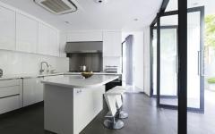 cuisine sophistiquée maison d'architecte luxueuse