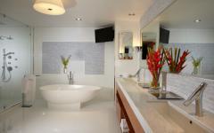 salle de bains design luxe tout confort