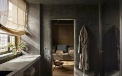 salle de bains luxe style industriel