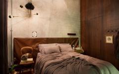 chambre rénovée design rétro appartement de ville
