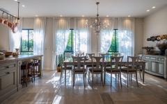 salle à manger rustique résidence citadine maison