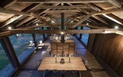 ancienne grange transformée en résidence de vacances