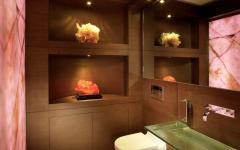 décoration toilettes appartement duplex