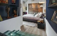 intérieur moderne à la décoration éclectique maison contemporaine