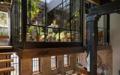 intérieur à l'agencement original loft industriel
