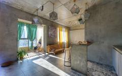 finitions design brut industriel intérieur logement citadin
