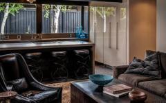 intérieur maison design masculin