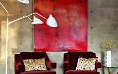 tableau art moderne maison contemporaine