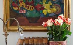 intérieur retro éclectique villa cottage