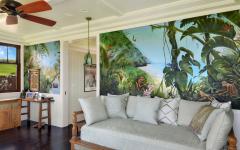 déco intérieure villa tropicale de plain-pied