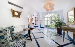 intérieur inspiré par la mer tourisme de luxe positano