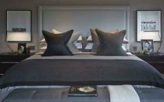 décor sobre en gris tendance chambre