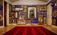 salle d'art intérieur décoration style gitan