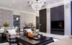 intérieur prestige élégant appartement moderne moscou
