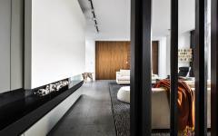 salon meubles design moderne épuré