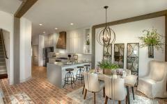 salle à manger cuisine séjour design