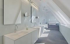 salle de bain blanche prestige et luxe