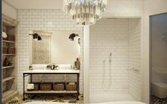 salle de bain design luxueux