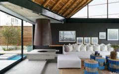 intérieur élégant et classe villa de luxe