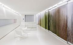 intérieur appartement futuriste design luxe