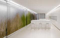 intérieur futuriste appartement d'archi minimaliste luxe design