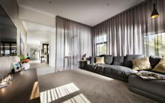 séjour spacieux design tendance agréable