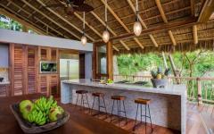 cuisine ouverte américaine prestige location de vacances mexique