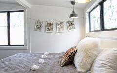 chambre principale lit double