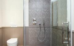 salle de douche moderne maison rénovée