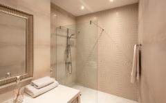 douche italienne salle de bains appartement
