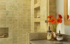 Faïences rustique pour salle de bains design