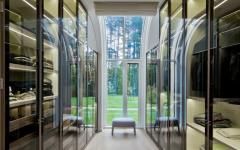 dressing maison d'architecte moderne