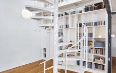 escalier design original créatif logement de ville